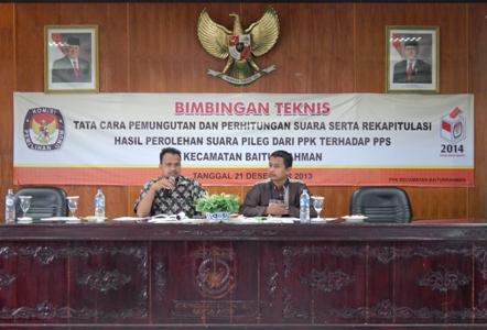 Bimtek RPPS untuk PPS Baiturrahman