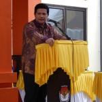 Sambutan Ketua KPU Husni Kamil Manik