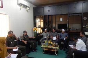 KIP Banda Aceh melakukan Audiensi dengan Kejaksaan Negeri Banda Aceh dalam rangka Pilkada 2017 (Ruang Rapat Kajari Banda Aceh, 20 April 2015)