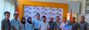 Kanwil Kementerian Hukum dan HAM mengujungi KIP Kota Banda Aceh (Media Center KIP Kota Banda Aceh, 22/02/2016) – (Foto by : Media Center KIP Kota Banda Aceh)