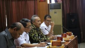 Sekretaris Jenderal Baawaslu RI Gunawan Suswantoro saat menghadiri rapat pembahasan Pilkada Aceh di kantor Kemenkopolhukam, (Jakarta, Kamis, 24 Maret 2016 )
