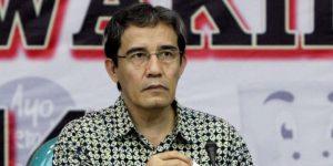 Anggota Komisi Pemilihan Umum (KPU) Hadar Nafis Gumay saat Rapat Pleno Terbuka Rekapitulasi Daftar Pemilih Tetap (DPT) Pemilu Presiden Dan Wakil Presiden Tahun 2014, di Gedung KPU, Jakarta Pusat, Jumat (13/6/2014). Dalam rapat tersebut ditampilkan jumlah total DPT pilres seluruh Indonesia sebanyak 190.290.936 - TRIBUNNEWS/HERUDIN