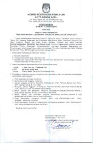3. Pengumuman Pemantau Pilkada 2017 Kota Banda Aceh_001