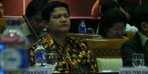 KOMPAS.com/Indra Akuntono Ketua Komisi Pemilihan Umum (KPU) Husni Kamil Malik